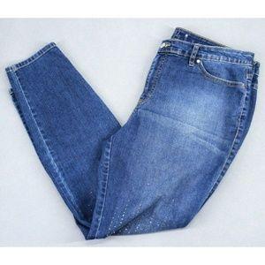 Jennifer Lopez Women Jeans Skinny Leg Blue